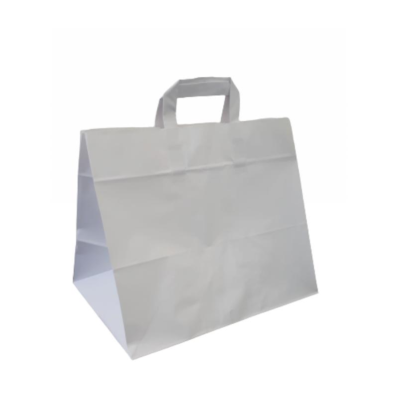 Papiertragetasche mit breitem Boden - Take away