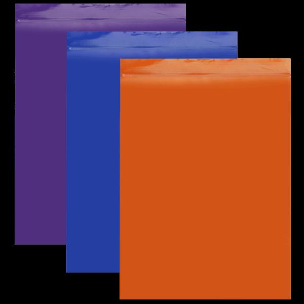 LD PE Druckverschlussbeutel in 7 verschiedenen Farben, 50 my